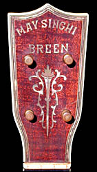 Breen uke headstock inlay