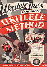 Cliff Edwards ukulele method