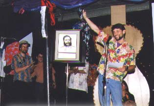 The inaugural Ukulele Hall of Fame Induction Ceremony, at Ukulele Expo 1997