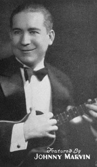 Johnny Marvin, from sheet 