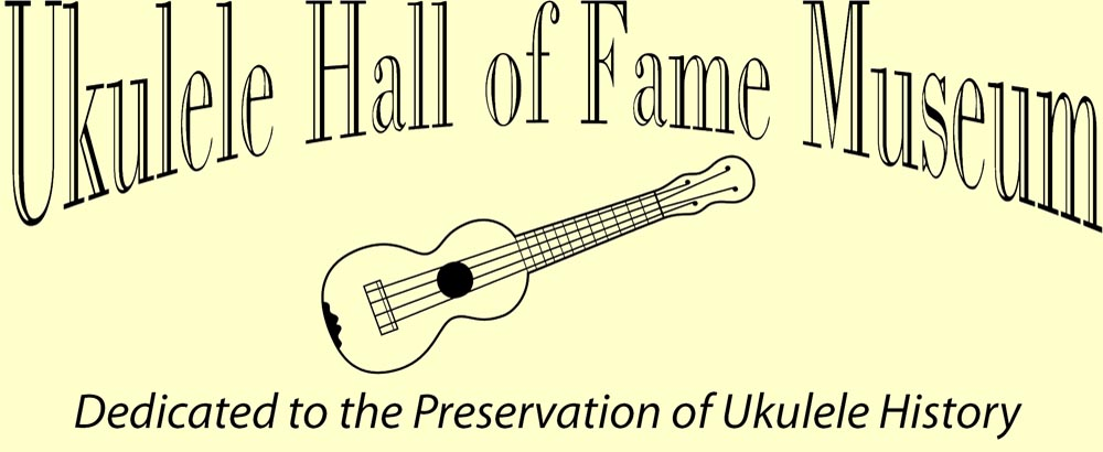 Ukulele Hall of Fame Museum banner